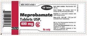 Meprobamate uses